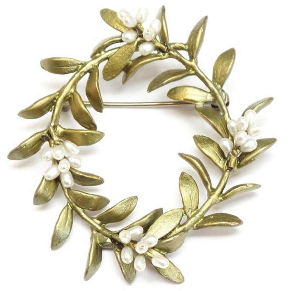 Flowering Myrtle Pin | Michael Michaud Jewelry | SS5772bzwp