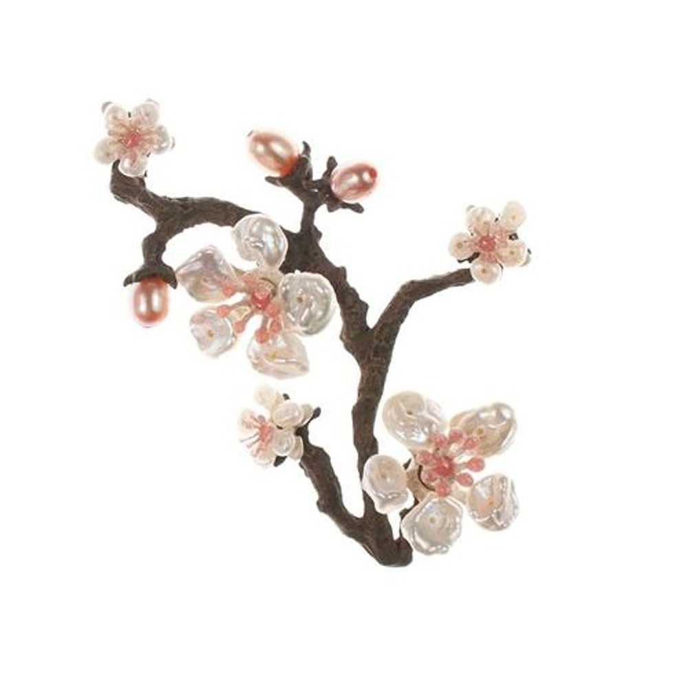 Cherry Blossom Pin | Michael Michaud Jewelry | SS5791BZWP