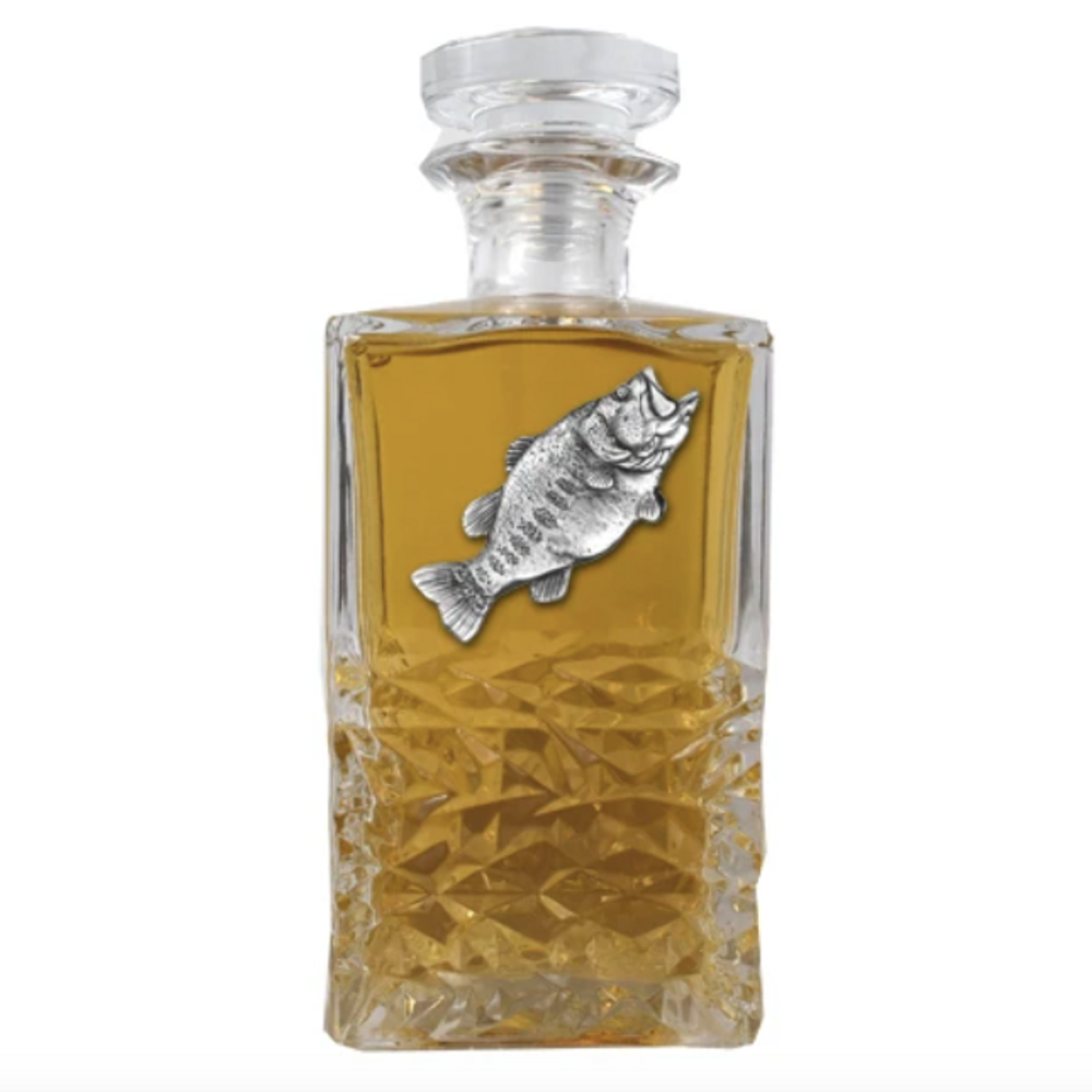 Bass Heritage Decanter   Heritage Pewter   HD4033