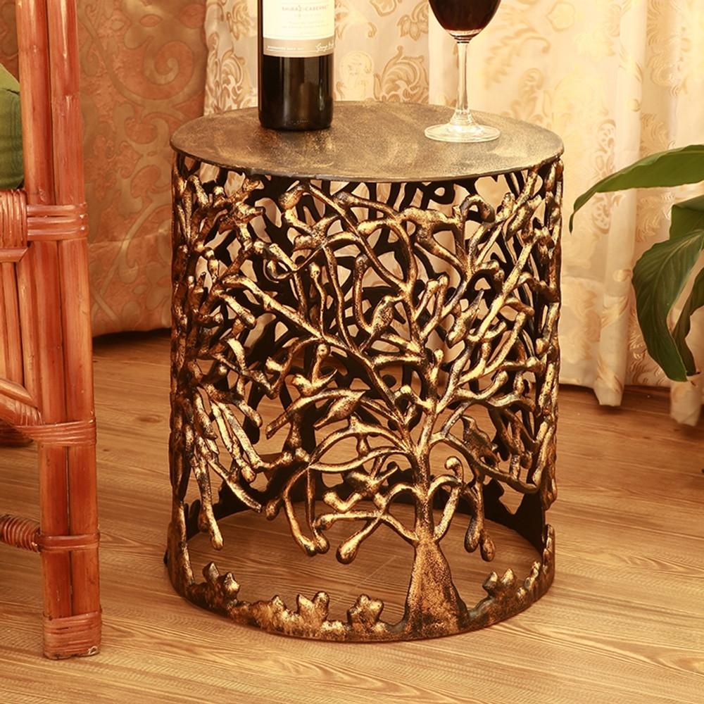 Tree Lattice Patio Table Garden Stool | SPI Home | 21003