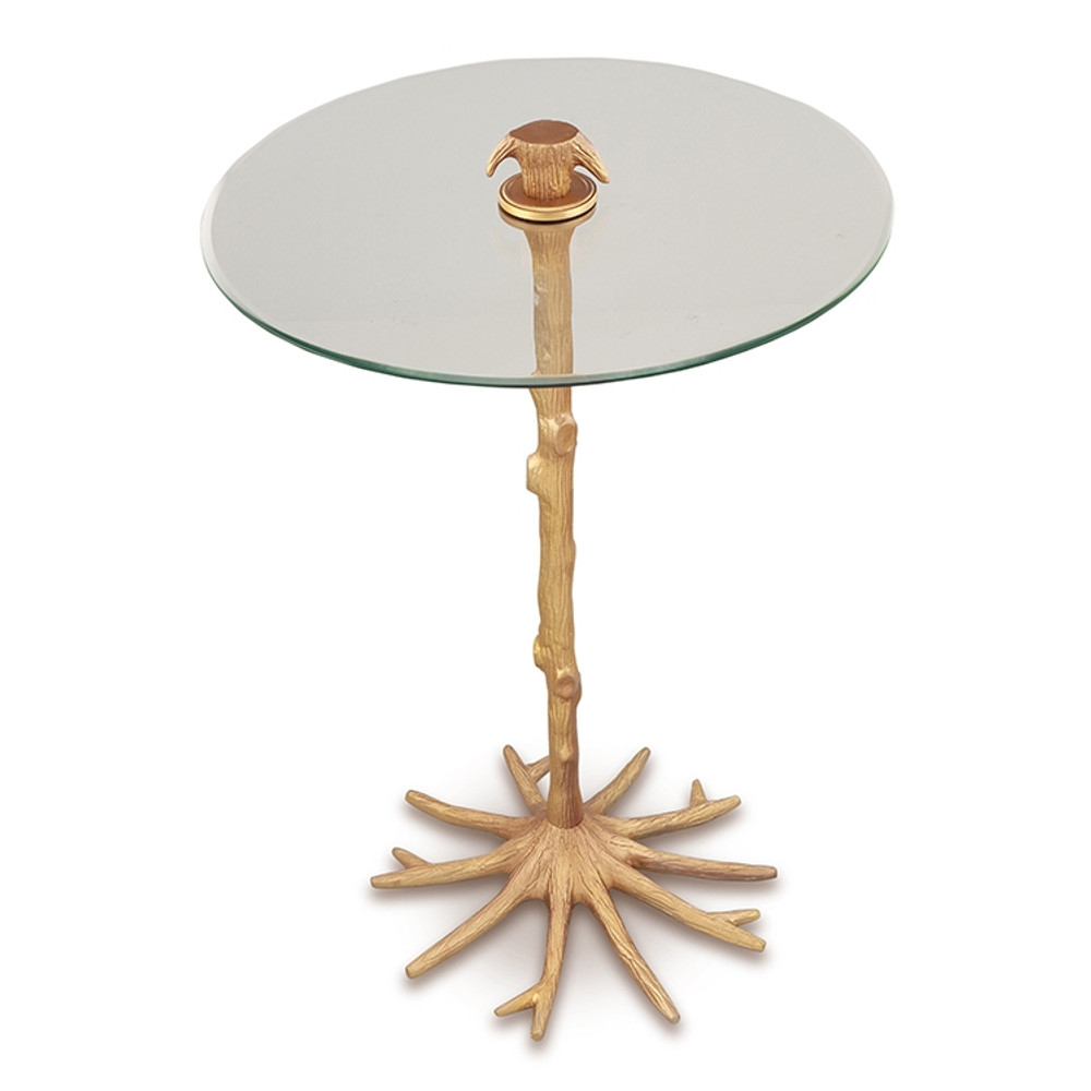 Tree Trunk and Roots End Table | SPI Home | 21060