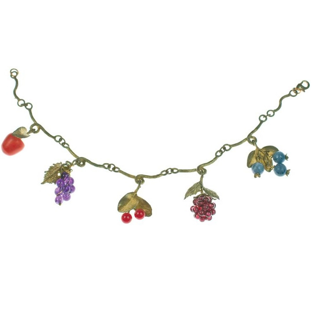 Fruit Charm Bracelet | Michael Michaud Jewelry | SS7103bz