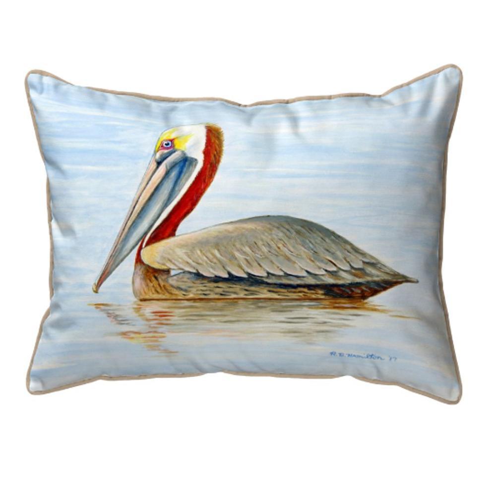Summer Pelican Indoor Outdoor Pillow 20x24 | Betsy Drake | BDZP807