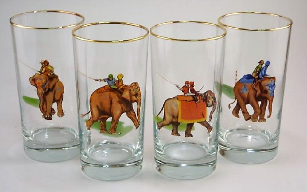 Polo Elephant High Ball Glass Set | Richard Bishop | 2020EP
