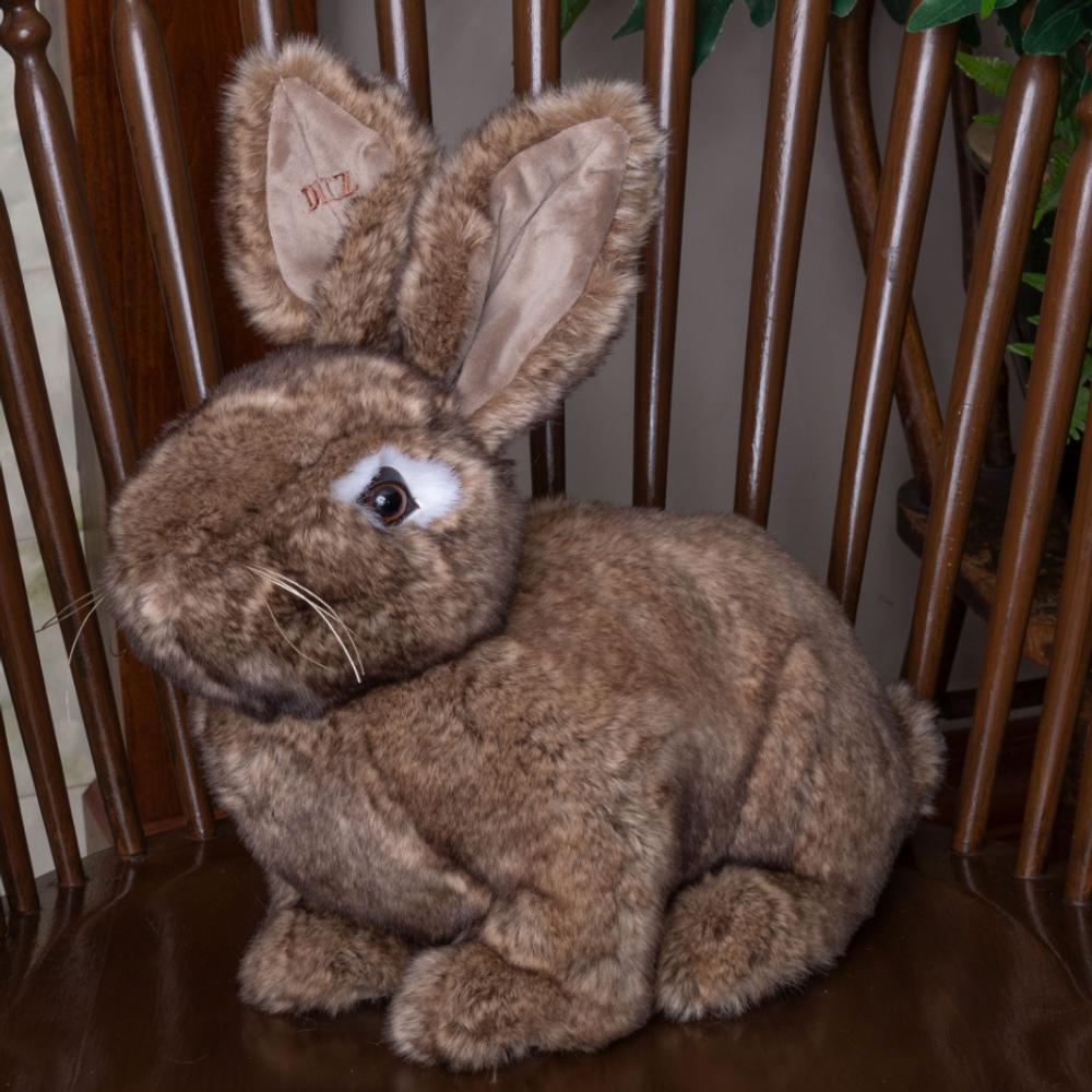Natural Brown Stuffed Rabbit Hug Bunny | Ditz Designs | DIT40561