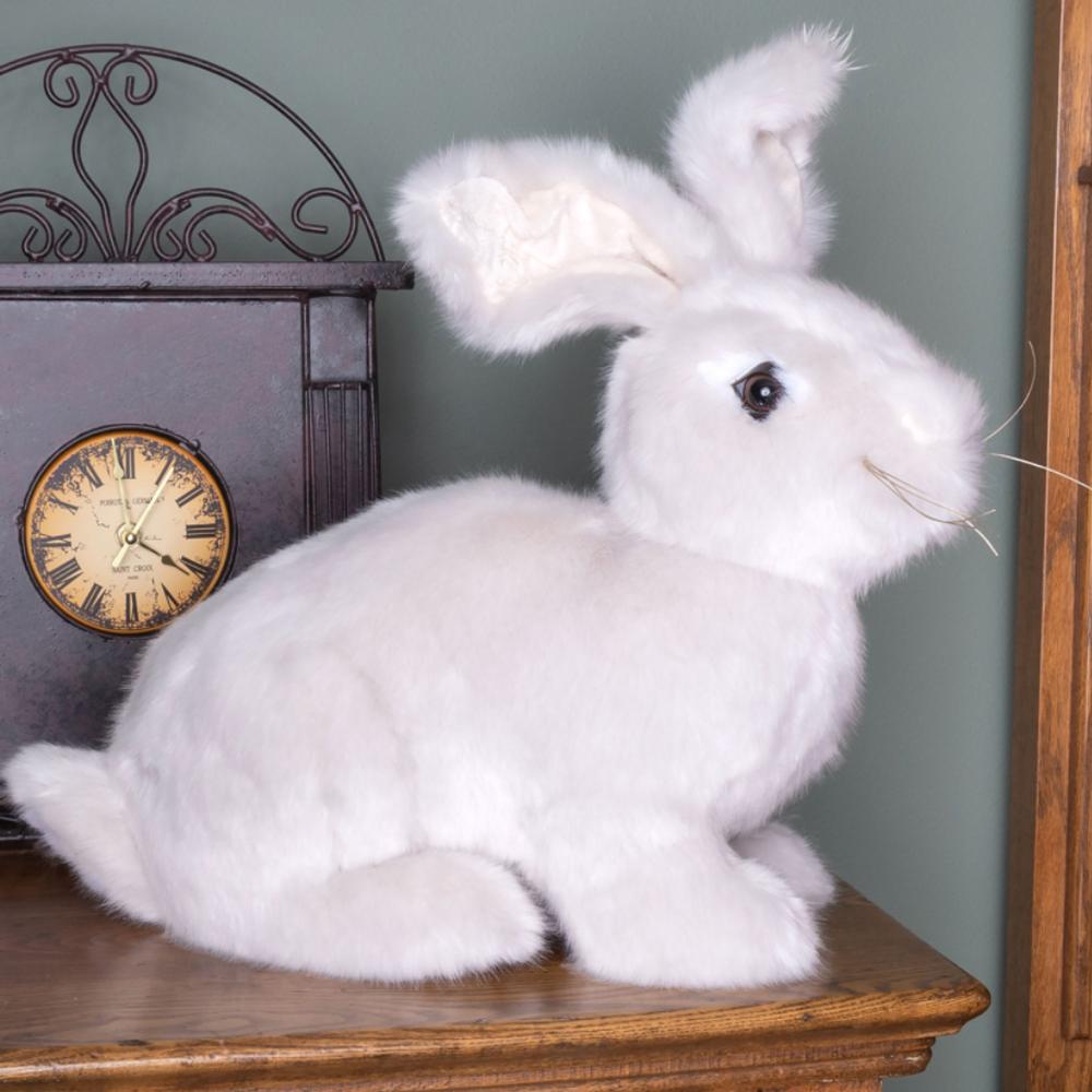 Natural Brown Stuffed Rabbit Hug Bunny | Ditz Designs | DIT40610
