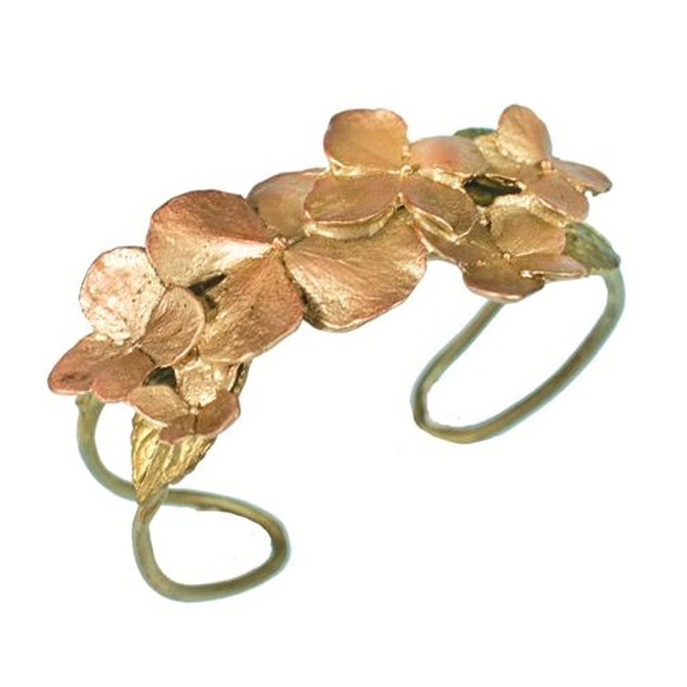 Hydrangea Cuff Bracelet | Michael Michaud Jewelry | SS7206BZ