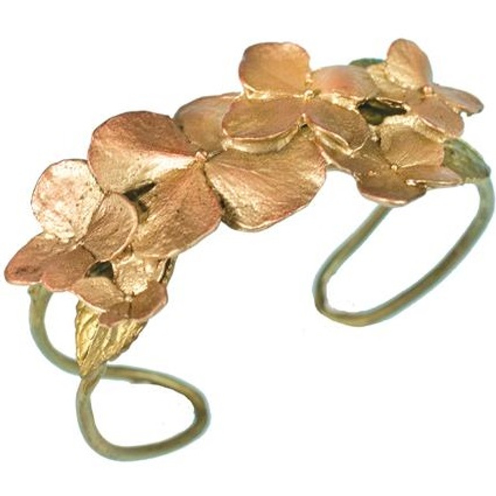 Hydrangea Cuff Bracelet | Michael Michaud Jewelry | SS7206BZ -2