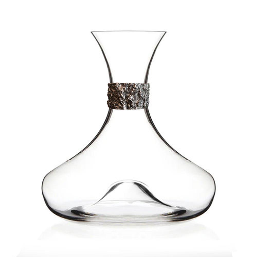 Oak Bark Crystal Wine Decanter | Menagerie | M-MWD-O1918