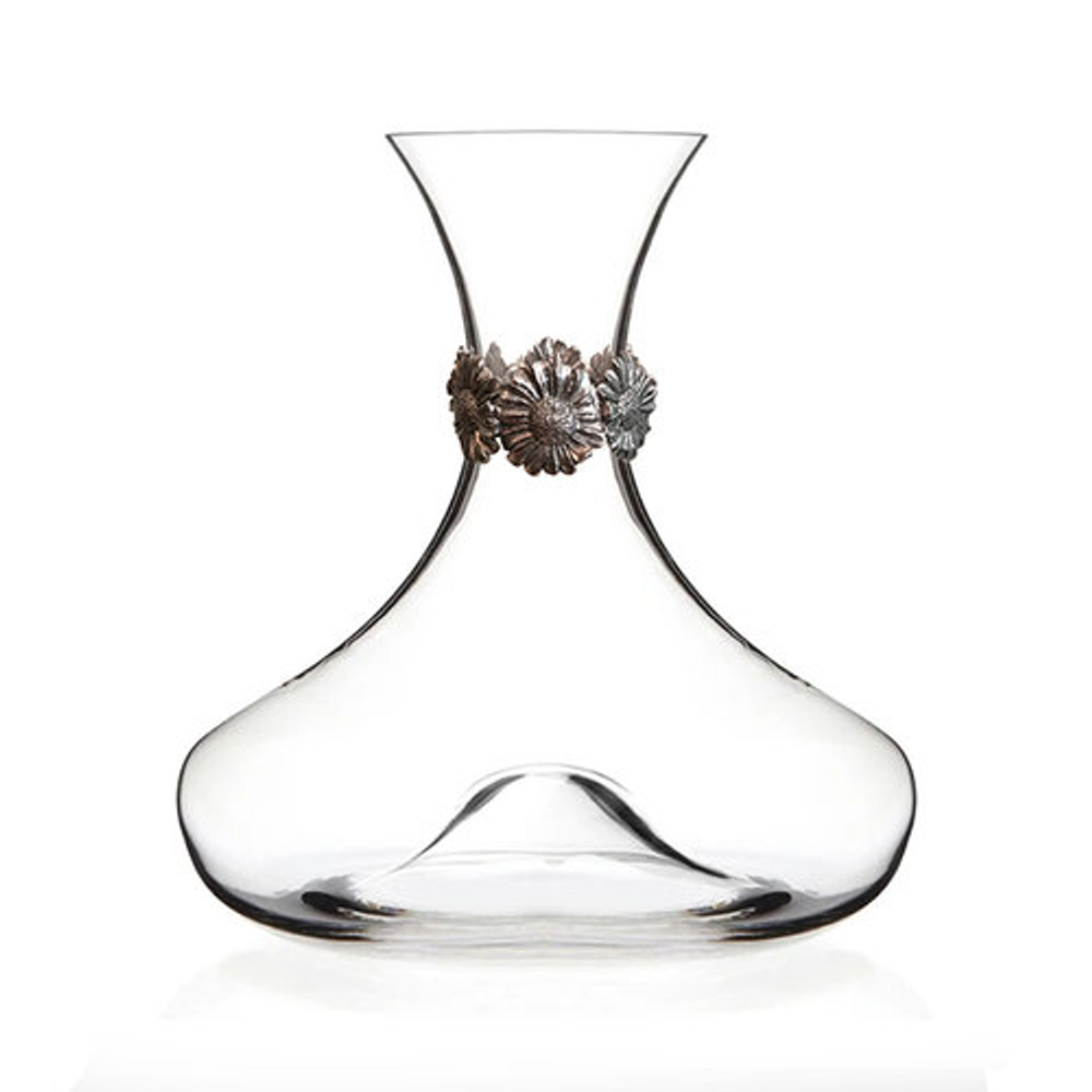 Daisy Crystal Wine Decanter | Menagerie | M-MWD-D1920