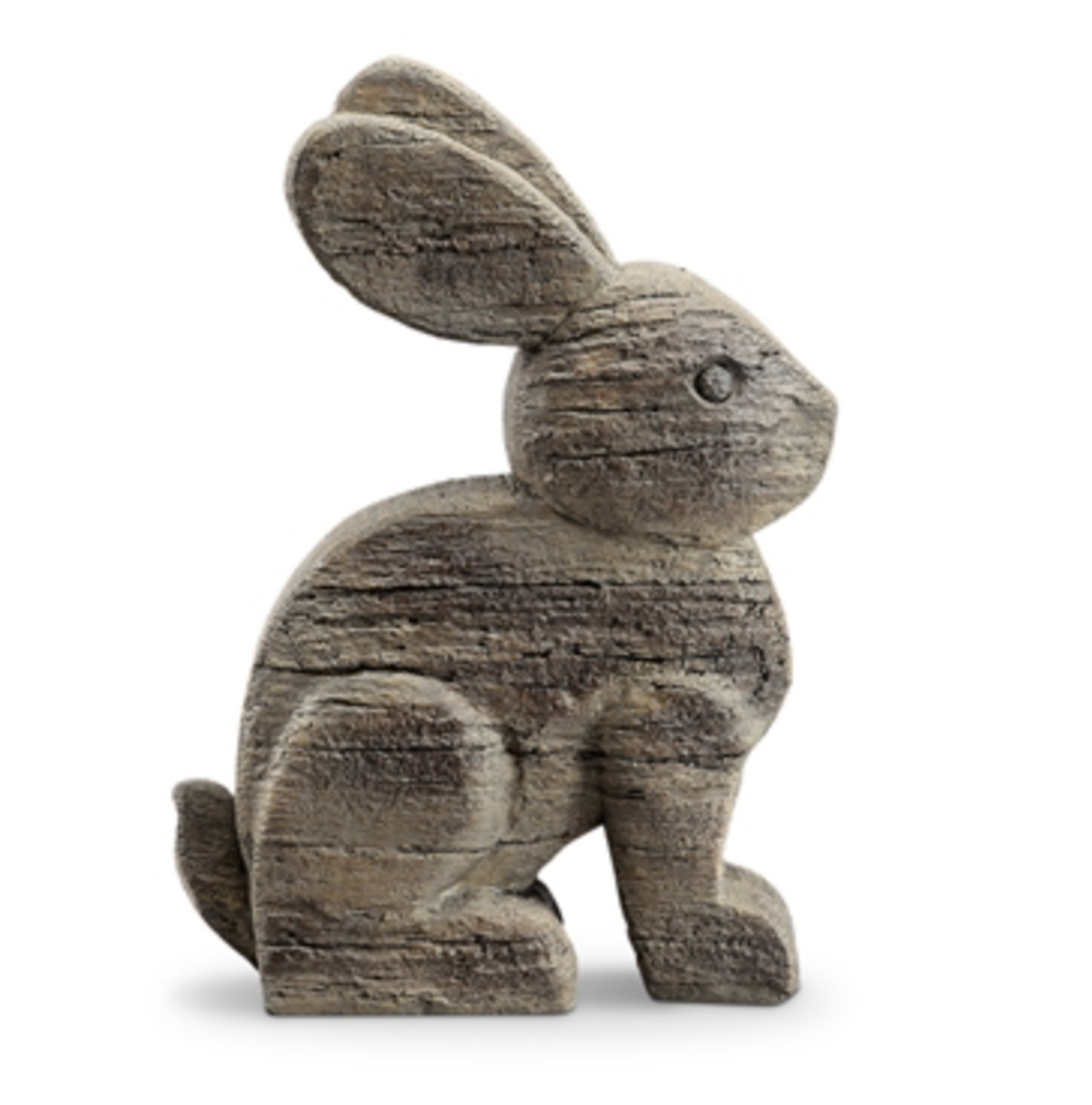 Rustic Rabbit Sculpture| 48130 | SPI Home