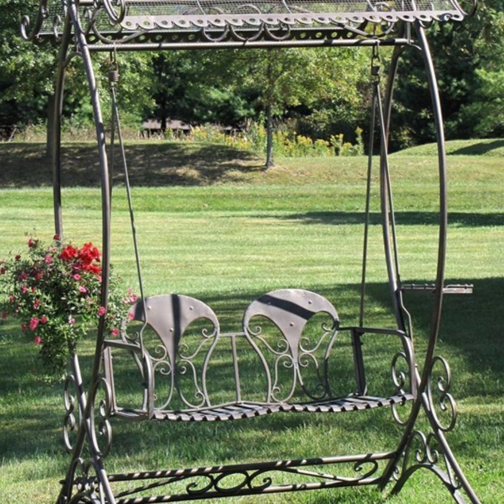 Octopus Arms Garden Swing Bench | Zaer International | ZR140338 - VG