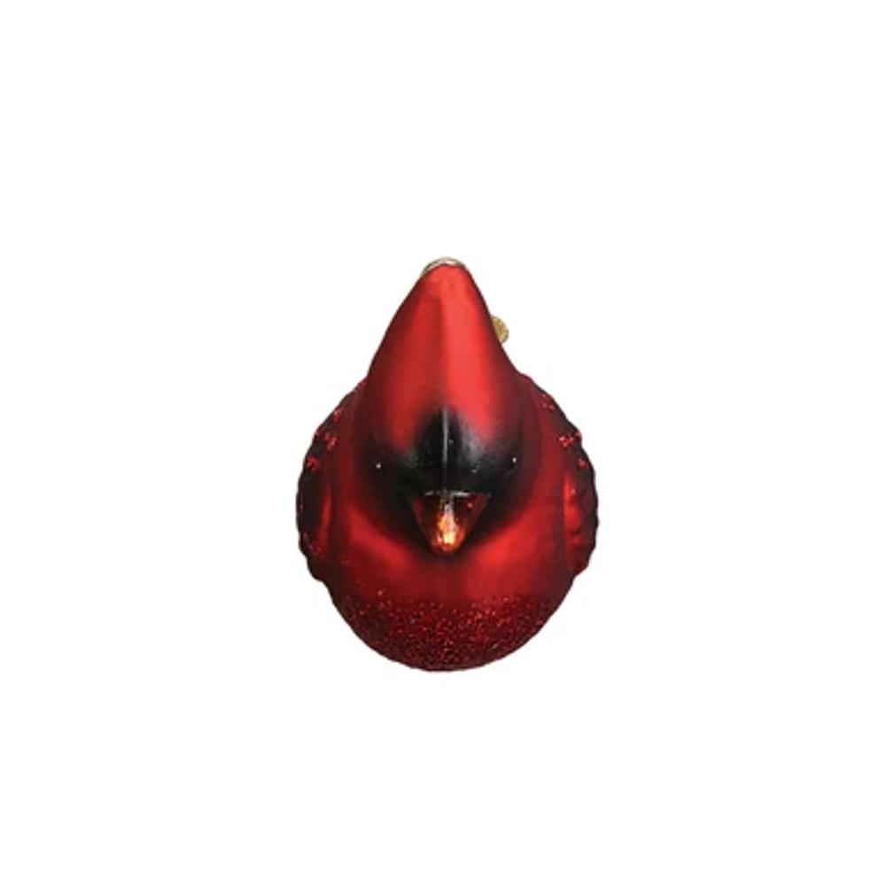 Northern Cardinal Glass Ornament | OWC16110