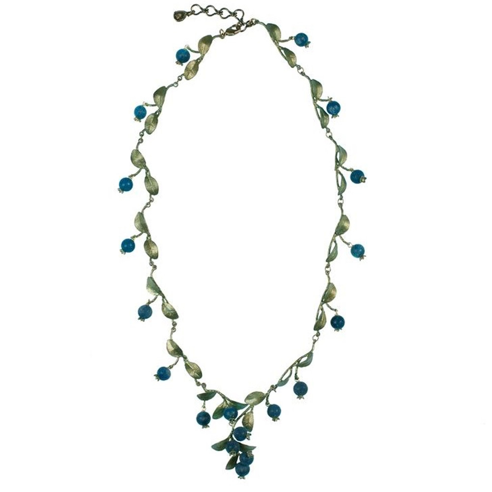 Blueberry Necklace | Michael Michaud Jewelry | SS7772bzbc