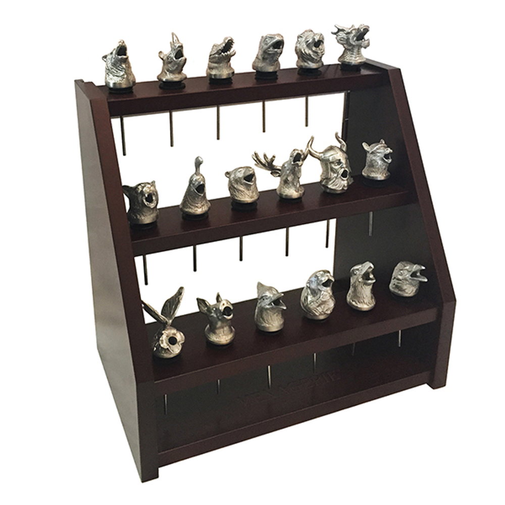 Menagerie Pourers 3-Tiered Collector's Display   Menagerie