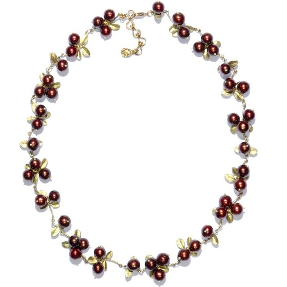 Cranberry Cluster Necklace | Michael Michaud Jewelry | SS7784bzcr