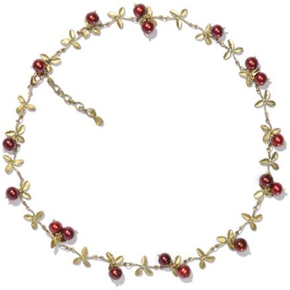 Cranberry Necklace | Michael Michaud Jewelry | SS7785bzcr -2