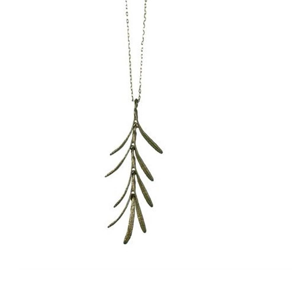 Rosemary Dangle Pendant Necklace | Michael Michaud Jewelry | SS7792BZ