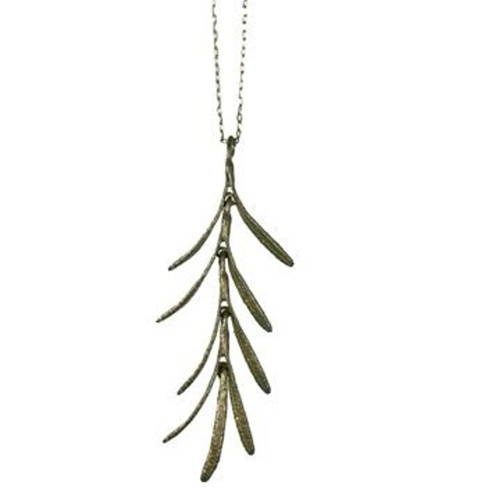 Rosemary Dangle Pendant Necklace | Michael Michaud Jewelry | SS7792BZ -2
