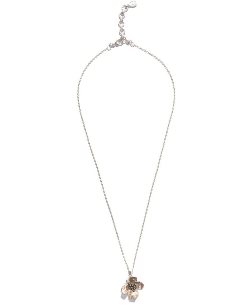 Dogwood Pendant Necklace   Michael Michaud Jewelry   SS8102bz