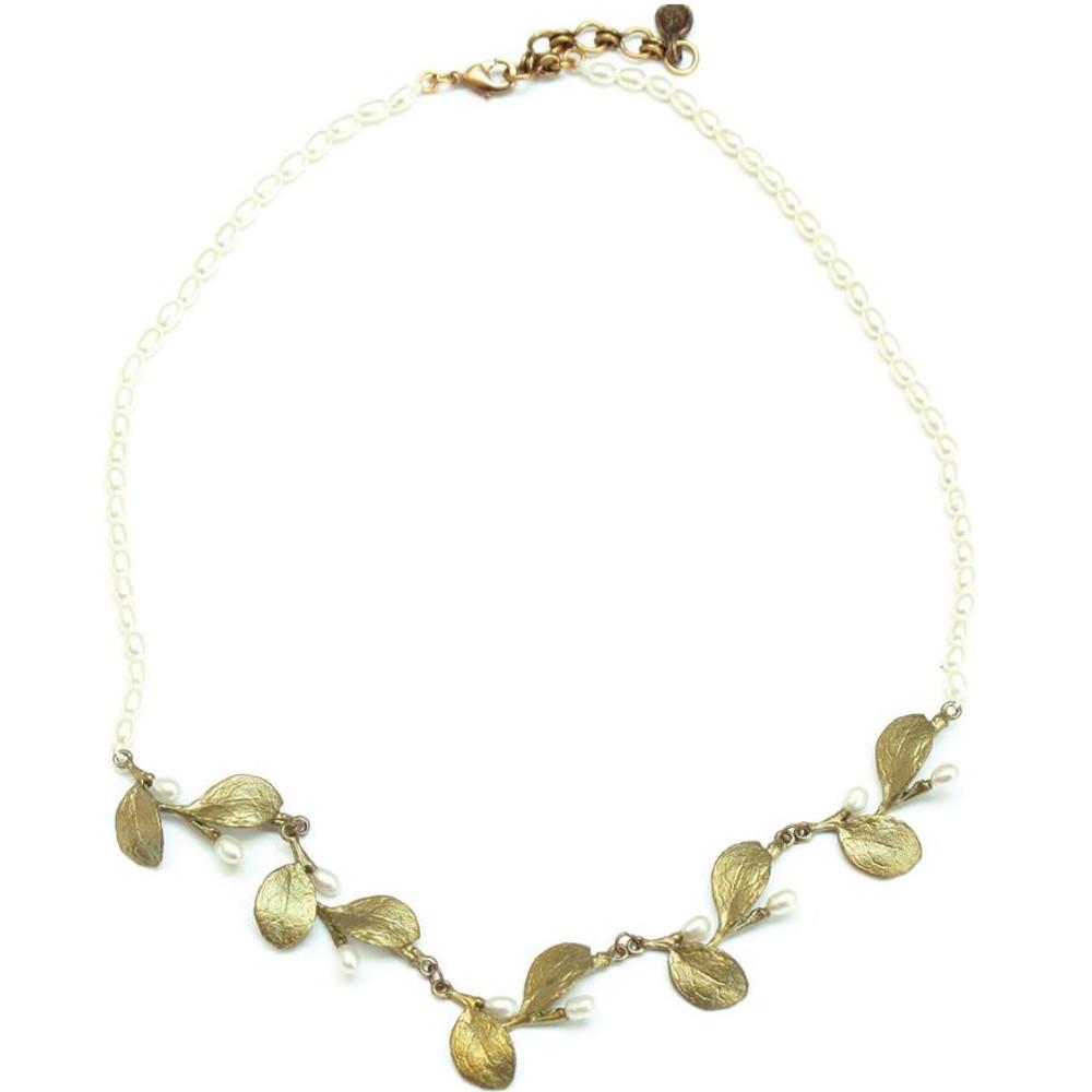 Irish Thorn Contour Necklace | Michael Michaud Jewelry | SS8124BZWP