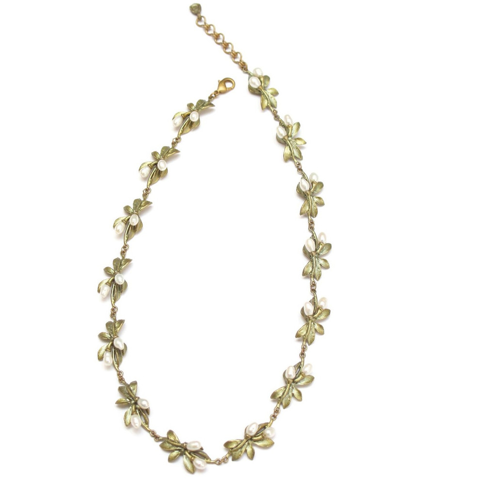 Orange Blossom All Around Necklace | Michael Michaud Jewelry | SS8204BZWP