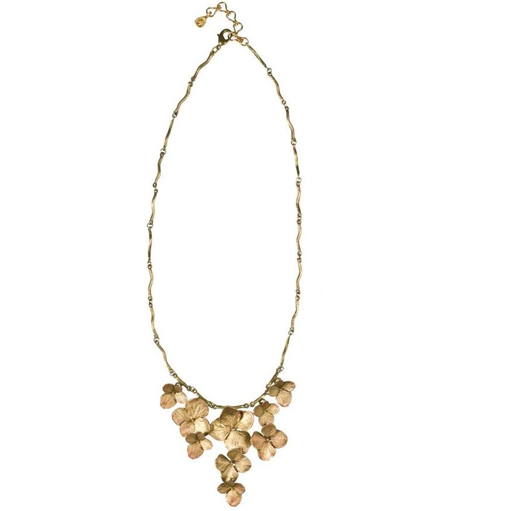Hydrangea Contour Necklace | Michael Michaud Jewelry | SS8335BZ