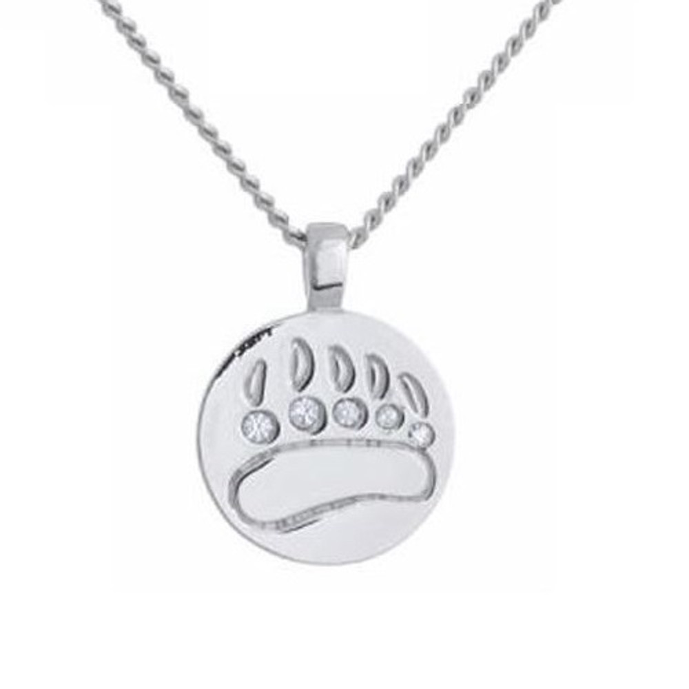 Bear Print Necklace | Annaleece Jewelry | ALreg1004