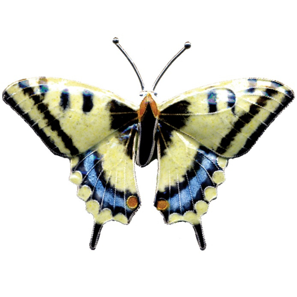 Swallowtail Butterfly Cloisonne Pin   Bamboo Jewelry   bj0004p
