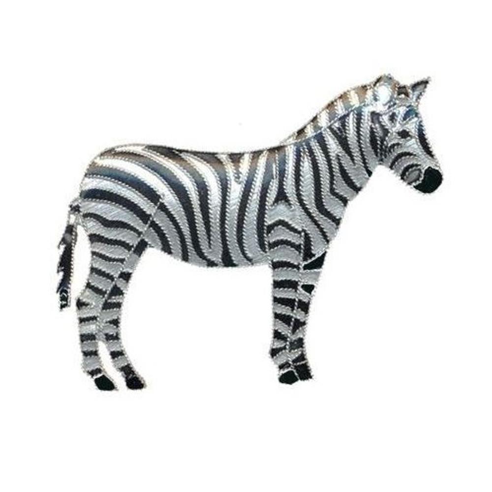 Zebra Cloisonne Pin | Bamboo Jewelry | bj0037p