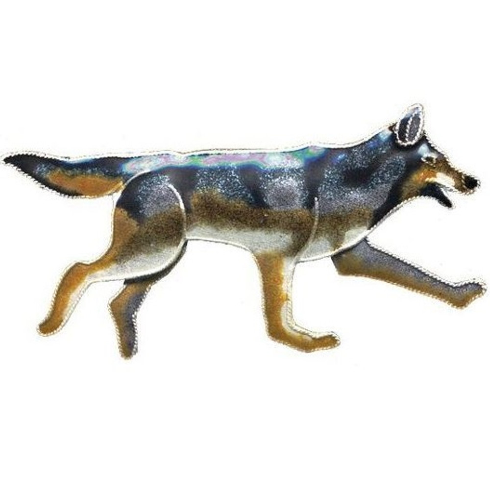 Wolf Cloisonne Pin | Bamboo Jewelry | bj0070p