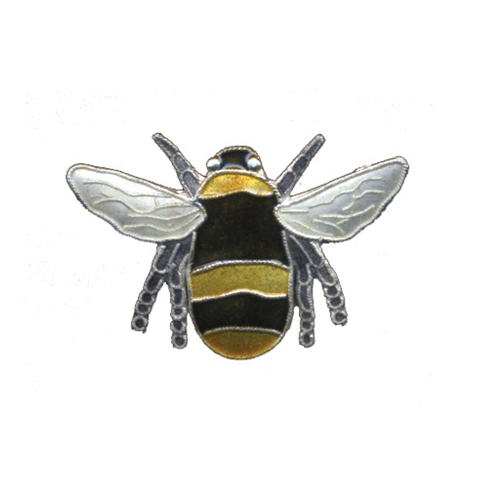 Bumble Bee Cloisonne Pin | Bamboo Jewelry | bj0166p