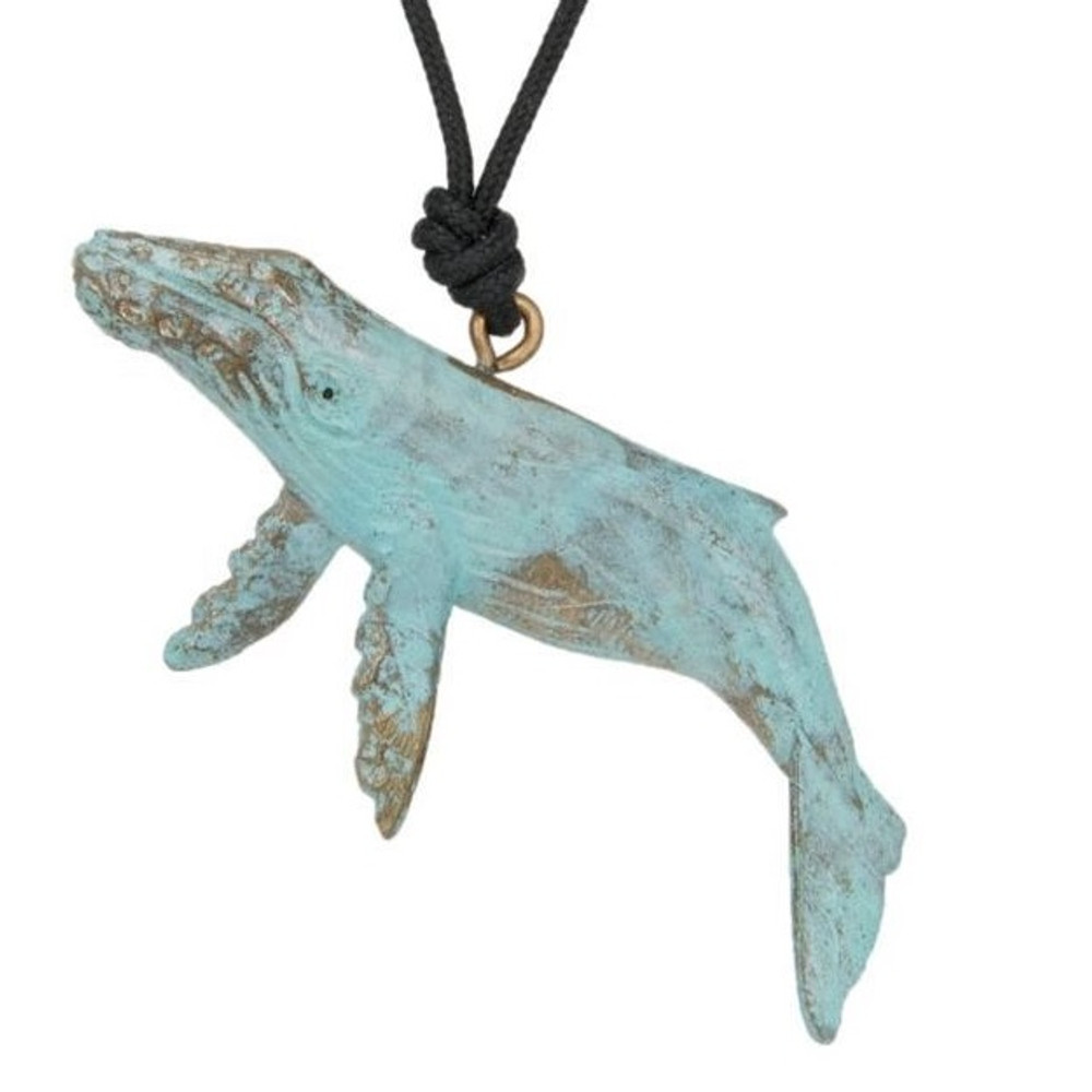 Humpback Whale Pendant Necklace | Cavin Richie Jewelry | DMOKB-21-PEND