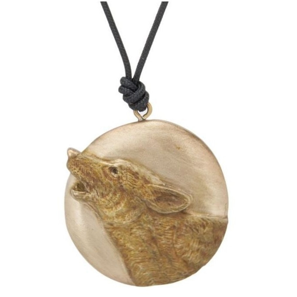 Howling Wolf Pendant Necklace | Cavin Richie Jewelry | DMOKB362PEND
