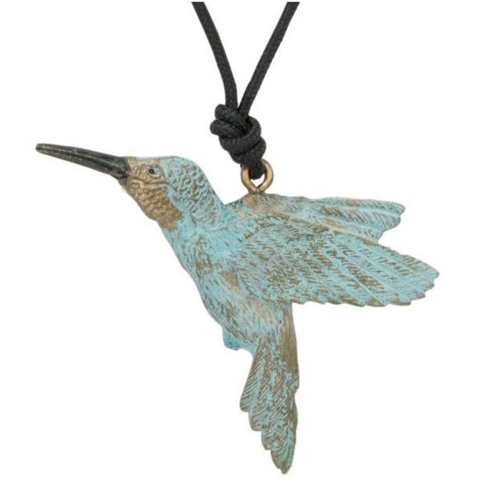 Hummingbird Pendant Necklace   Cavin Richie Jewelry   DMOKB-65-PEND