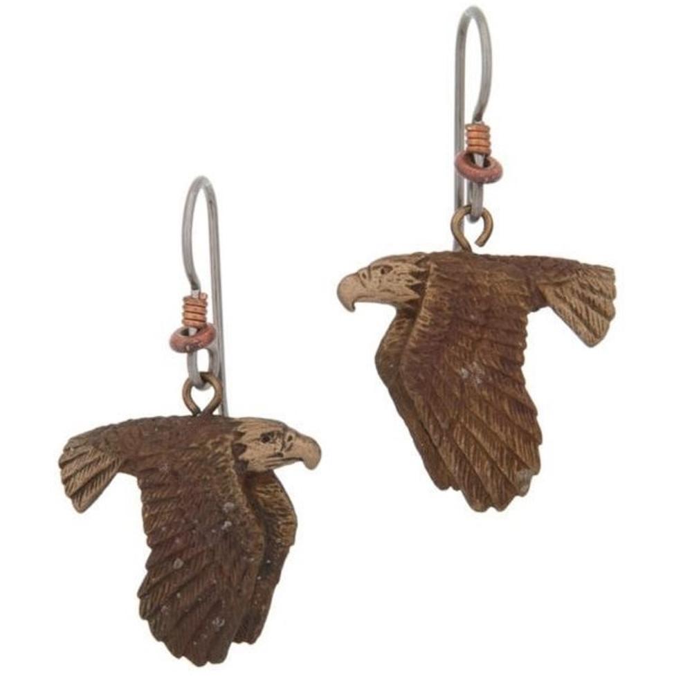 Eagle Flying Earrings | Cavin Richie Jewelry | KBE-14-FH