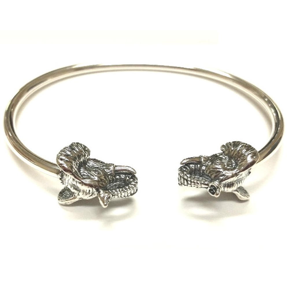 Elephant Sterling Silver Greek Bracelet | Kabana Jewelry | Kbr218