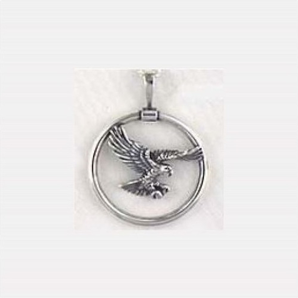 Flying Eagle Sterling Silver Necklace | Kabana Jewelry | Kp736