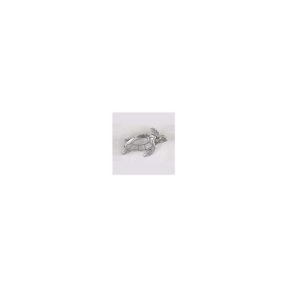 Swimming Sea Turtle Sterling Silver Pin | Kabana Jewelry | Kpn352 -2
