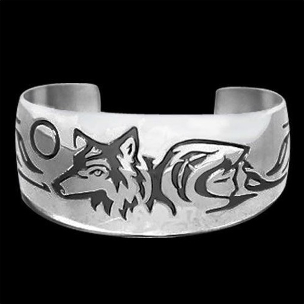 Wolf Bracelet Maiden Clan |  Metal Arts Group Jewelry | MAG10904