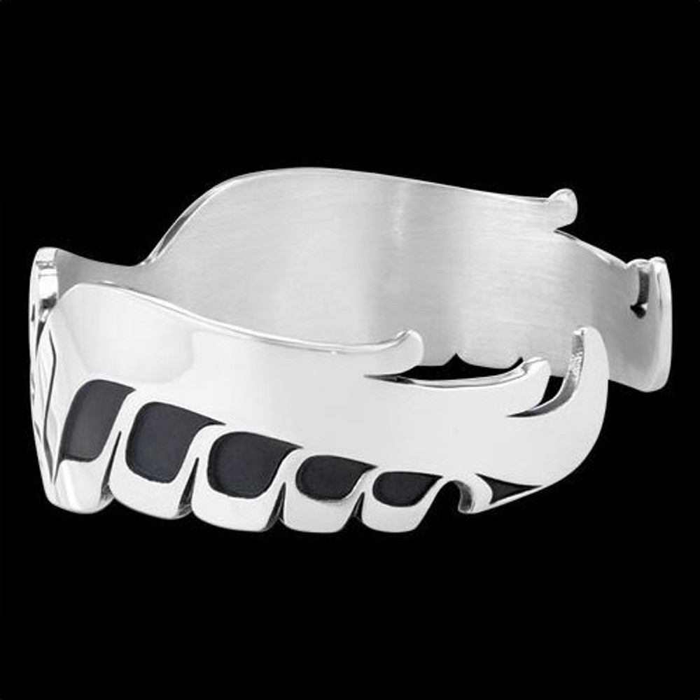 Eagle Spread Tribal Cuff Bracelet Silver |  Metal Arts Group Jewelry | MAG11406-S -2