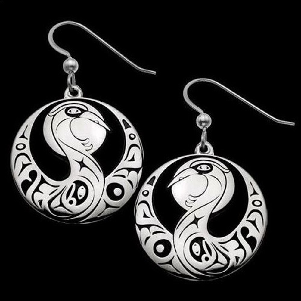 Blue Heron Sterling Silver Earrings |  Metal Arts Group Jewelry | MAG22273