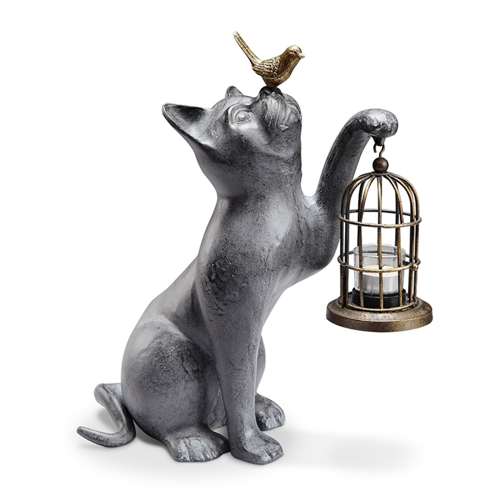 Night of Discovery Cat Garden Lantern | 34192 | SPI Home -2