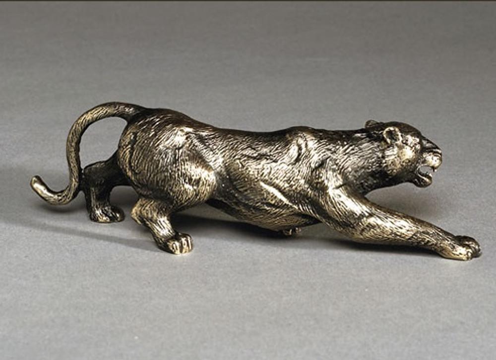 Cougar Bronze Sculpture | Barry Stein | BBSCOU1-G -2