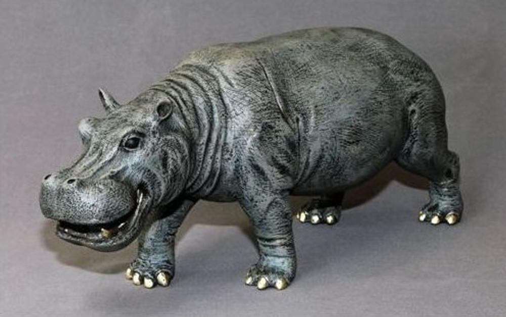 Hippopotamus Bronze Sculpture | Barry Stein | BBSHIP1-H -2