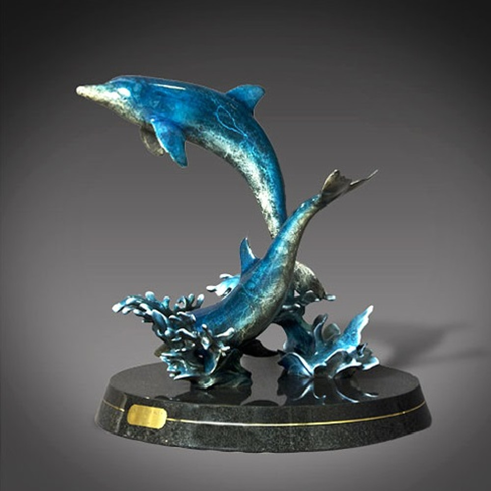 """Dolphin Bronze """"Out of the Blue"""" 