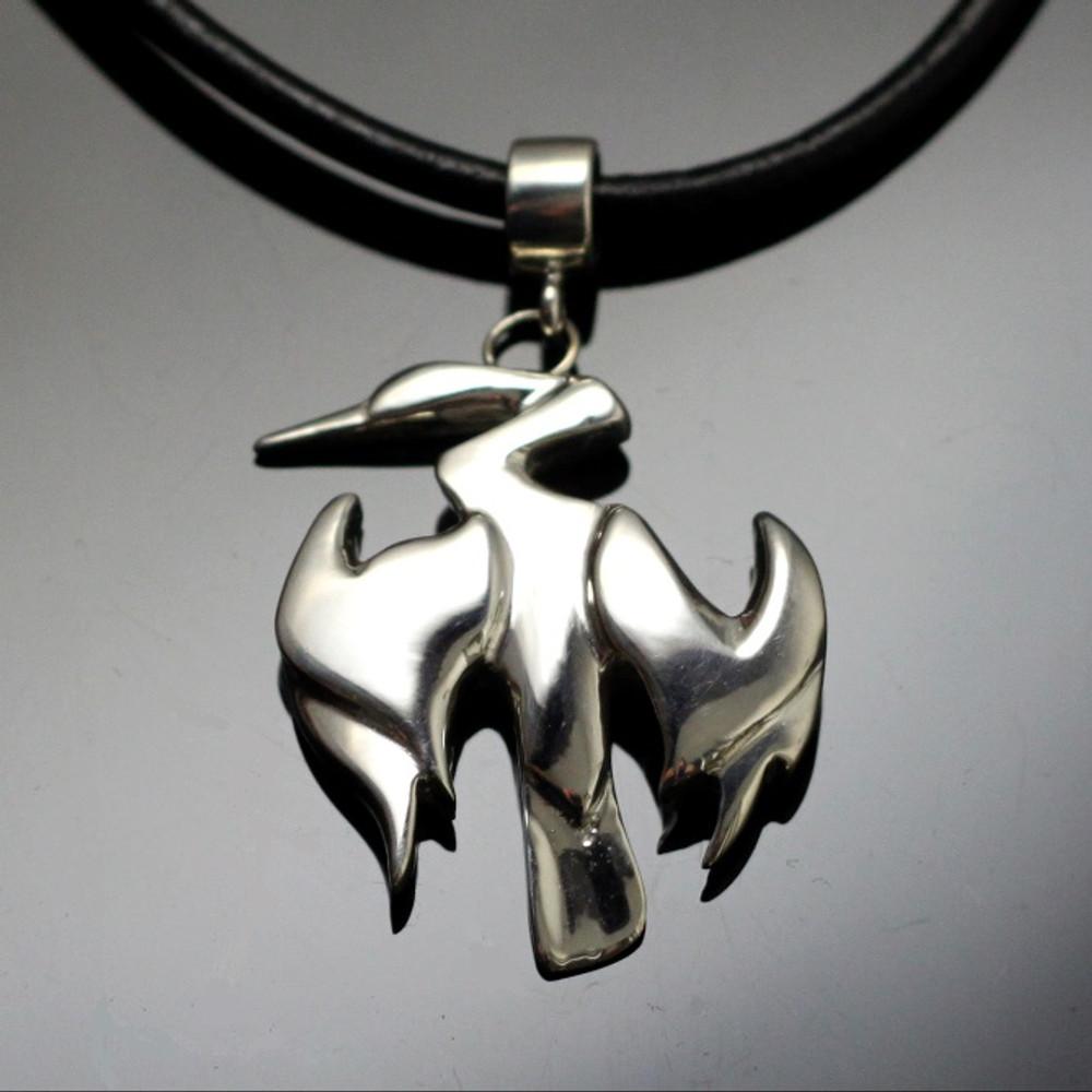 Anhinga Sterling Silver Necklace | Anisa Stewart Jewelry | ASJw1001