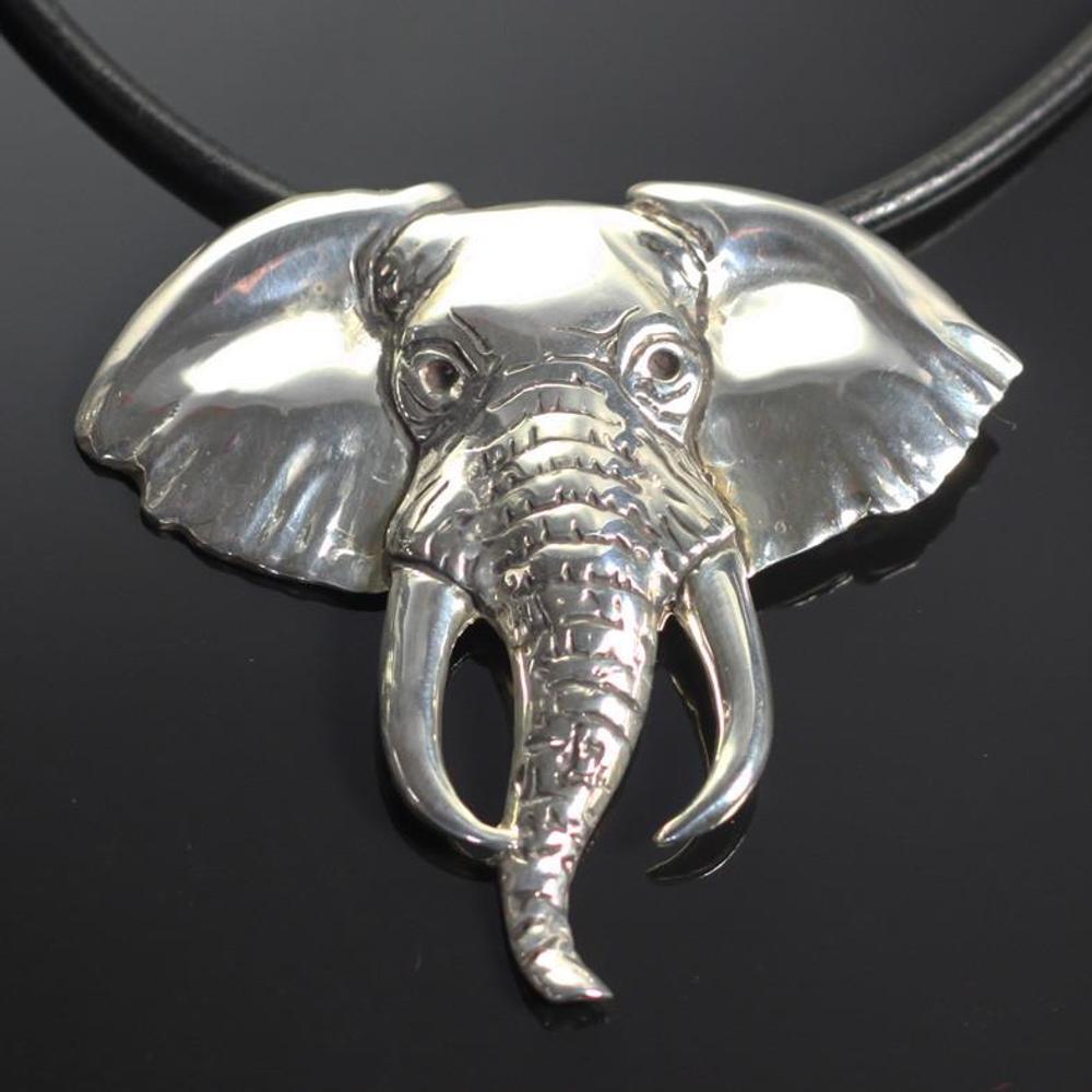Elephant Silver Pendant Necklace | Anisa Stewart Jewelry | ASJw1007