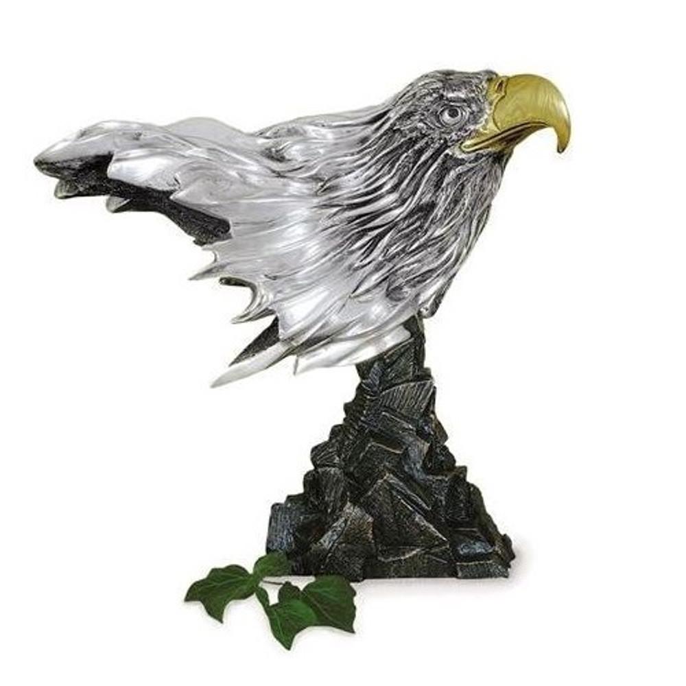 Silver Eagle Head Sculpture | 2009 | D'Argenta