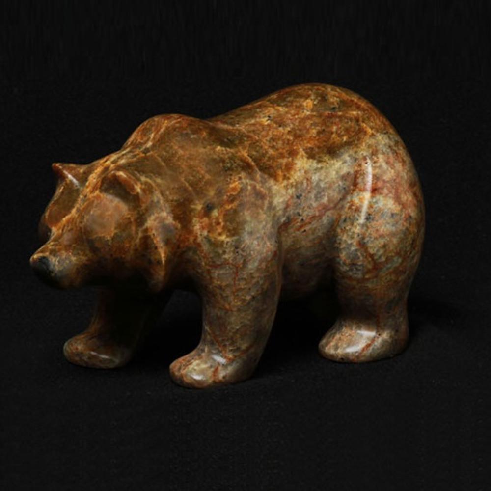 Bear Walking Stone Sculpture | Douglas Creek | 1100